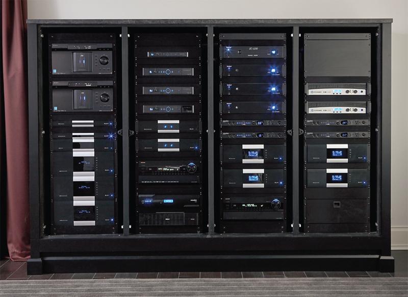 Pro Audio Visual - Equipment Rack Photos